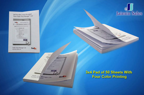 Four Color Printed Sheet Pads