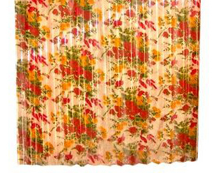 Frp Sheets With Flower Print