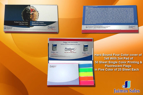 Hard Boud Four Color Cover Pads