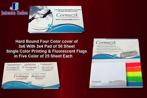 Hard Bound Four Color Cover Sheet Pads