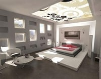 Modular Bed Room Bed