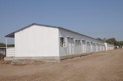 Insulated Prefab Shelter