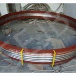 Industrial Axial Bellow With Pipe