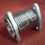 Precision Engineered Axial Bellow With Flange