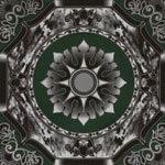 Black And Burgundy Glossy Ceramic Tile (GCT-03)