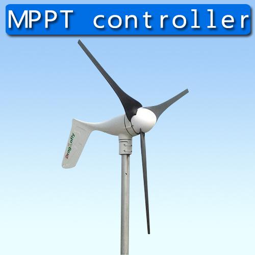 400W 12/24/48V Wind Turbine Generator Built In MPPT Controller in