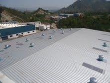 Crimp Curve Roofing