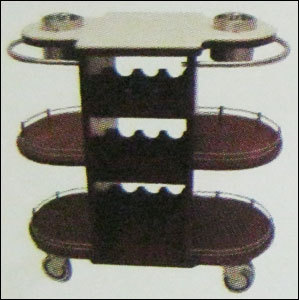 Hotel Trolley With Corian Top No-148