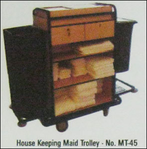 Housekeeping Maid Trolley - No. Mt-45