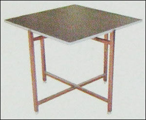Lack Top Ss Series Table With Reversible Laminated Top