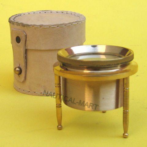 Brass Magnifying Tripod