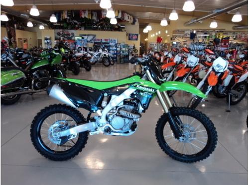 KX250F Dirt Bike