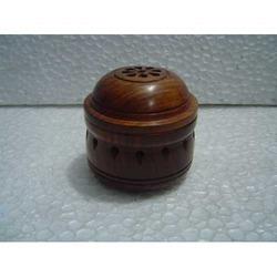 Designer Wooden Incense Burner