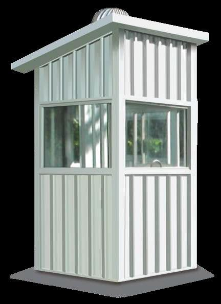 Guard Hut Movable Cabin Multicolor Steels India Pvt