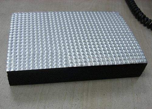 Aluminum Foil Clad Nbr Pvc Foam Insulation Sheet In