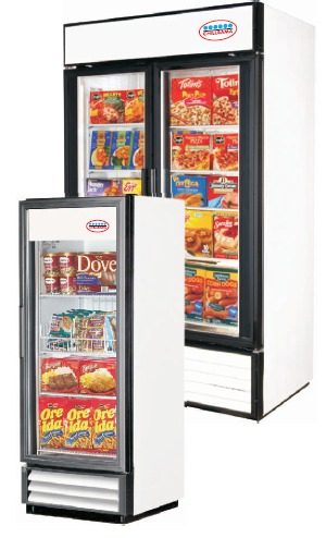 Up Right Freezers