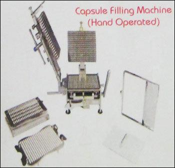 Capsule Filling Machine (Hand Operated)