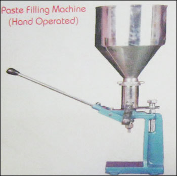 Paste Filling Machine (Hand Operated)