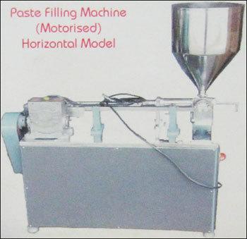 Paste Filling Machine (Motorised Horizontal Model)