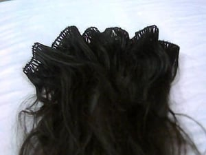 Hand Tied Weft Hairs
