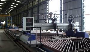 Heavy Duty Gas Cutting Machine
