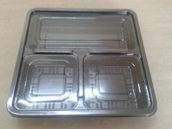3cp Sq Tray With Lid