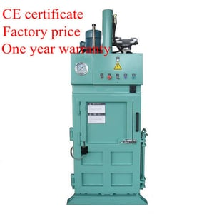 Waste Paper Recycling Baling Machine