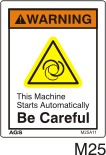 Automated Machinery Safety Decals