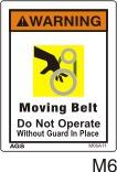 Belt Drive Safety Decals