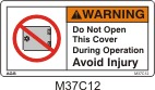 Cover Safety Decals