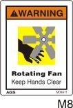 Fan Safety Decals