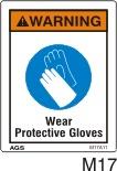 Gloves Safety Decals