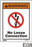 Loose Connection Safety Decals