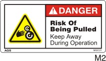 Rollers Safety Decals