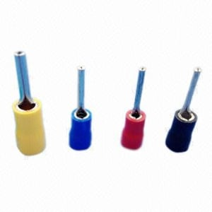 Insulated Pin Terminals with Tin Plating