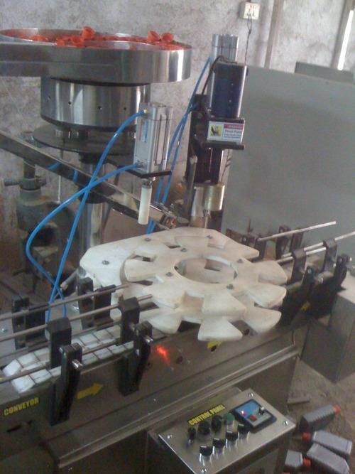 Industrial Single Head Screw Capping Machine