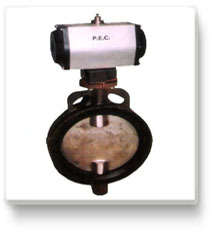 Pneumatic Operated Butterfly Valve  in  New Area