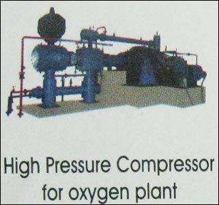 High Pressure Compressor For Oxygen Plant