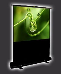 Pneumatic Projection Screen