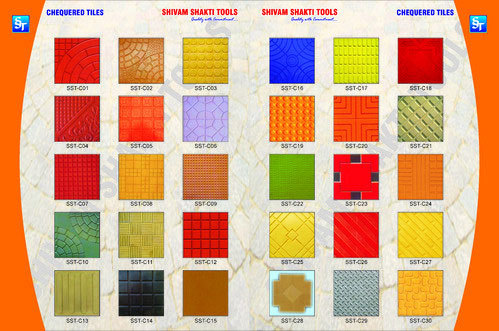 Corrosion Resistance Chequered Tiles Moulds