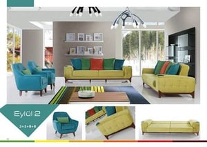 Sofa Set With Bed