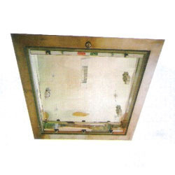 Bottom Openable Square Light Fitting