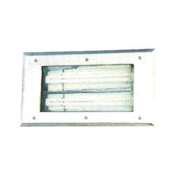 Rectangle Type with SS Plate Bottom Openable Light Fitting