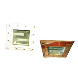 Square Type Bottom Openable Light Fitting