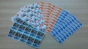 Scratch Card With Vdp And Scratch Label