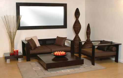 Stylish Indian Wooden Sofa Set