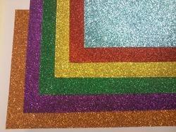 Fancy Glitter Paper in   Old GIDC