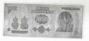 Silver Thousand Rupees Note