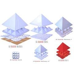 Pyramid Set (White Max - 9'')