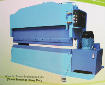 Heavy Duty Hydraulic Press Brake (Side Pillar)